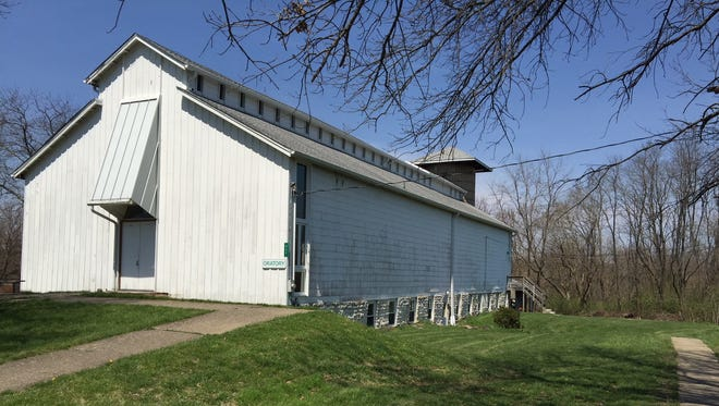 The Oratory building at Grailville in Miami Township, Clermont County, near Loveland, Ohio.