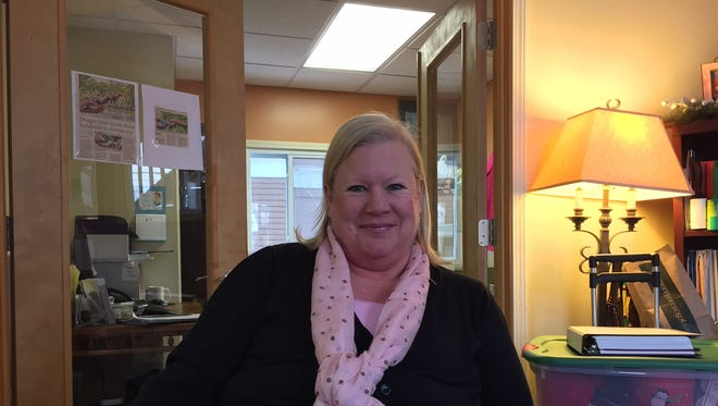 Cindie Alwood is the director of the Women's Center of Greater Lansing.