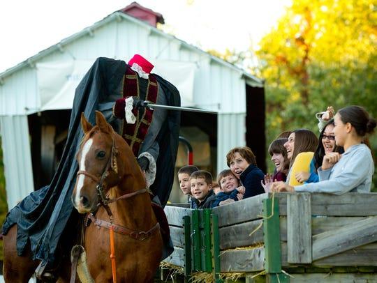 OCT. 12-15, 19-22, 26-29: Headless Horseman, Conner