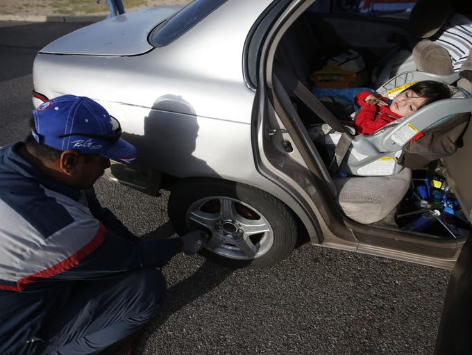 Normando Moreno, from Community Tire Pros and Auto