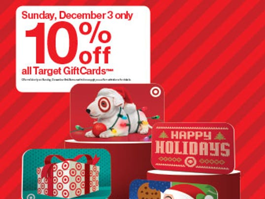 Savings alert dont miss targets rare gift card sale dec 3 target gift card sale negle Image collections