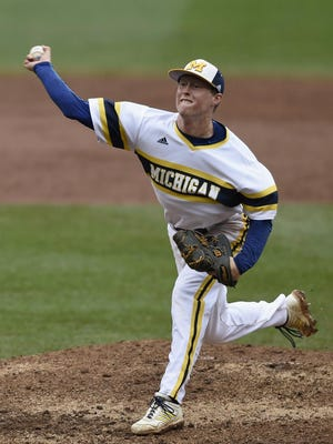 St. Clair High School graduate Jacob Cronenworth is playing minor league baseball in Bowling Green, KY; after playing at the University of Michigan.