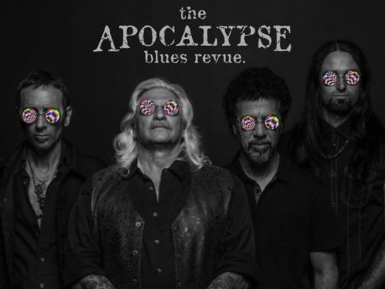 The Apocalypse Blues Revue is (left to right) Shannon