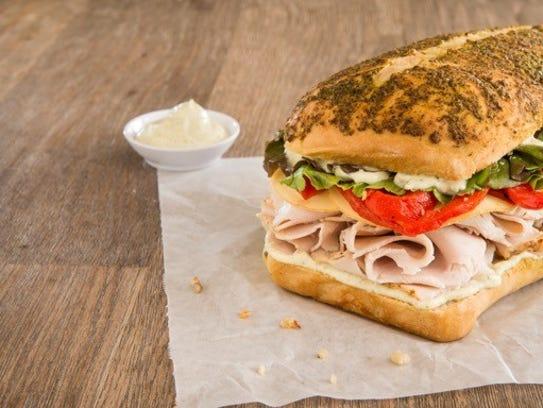 The Rubicon Special sandwich from Rubicon Deli