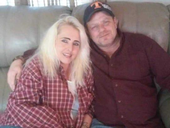 Brenda Carroll (left) and Shawn Day