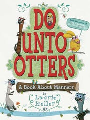 """The book """"Do Unto Otters,"""" written by Michigan author Laurie Keller, has been selected for the """"Michigan Reads! One State, One Children's Book"""" program."""