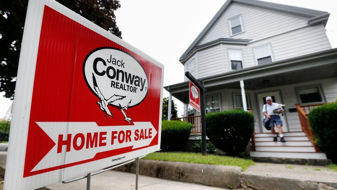 Home price increases had picked up recently on tight inventory.