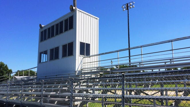 This bleacher section in Laurens will be empty on Friday nights this fall with the cancellation of high school football after nearly 100 years.