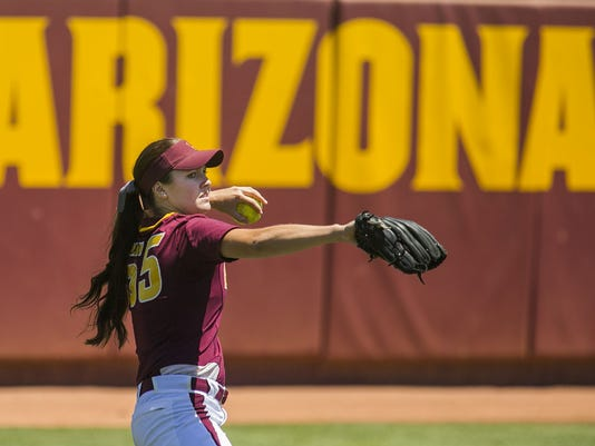 ASU vs Oregon State Softball