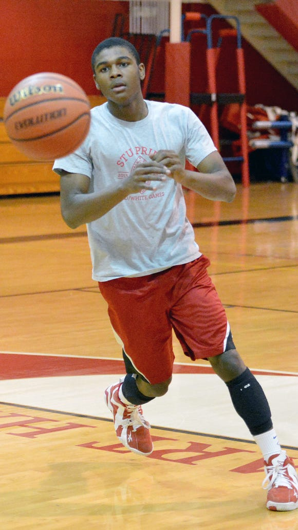 Adam Pickett, Stuart Hall's high-scoring guard, has signed a national letter of intent to play basketball at Winthrop University.