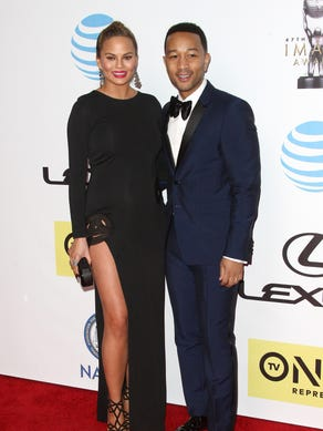 Chrissy and John attended the NAACP Image Awards in