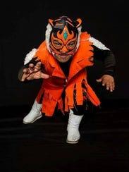 Professional wrestler Felinito will perform at Midget