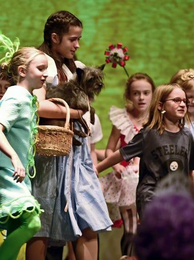 Dress rehearsal for Chambersburg Community Theater's