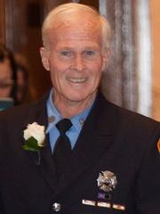 Retired FDNY firefighter Michael O'Hanlon died Monday,