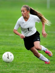 Brooklynn Petterson, who was named Oregon West Conference