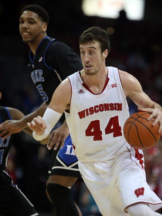 NCAA Basketball: Duke at Wisconsin