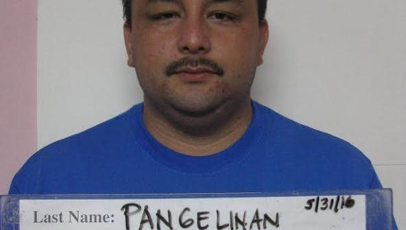 Mugshot of Donny Topasna Pangelinan