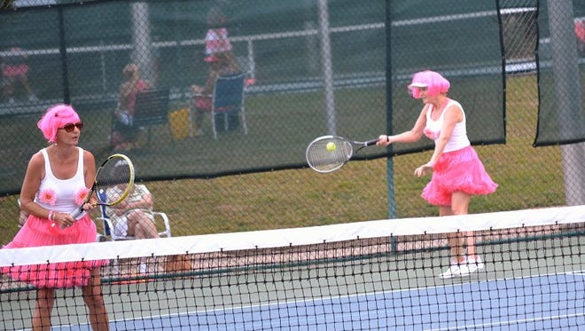 This will be the 15th year for the annual Pink Ribbon Tennis Tournament at Roger Scott Tennis Center which raises money in the fight against cancer.