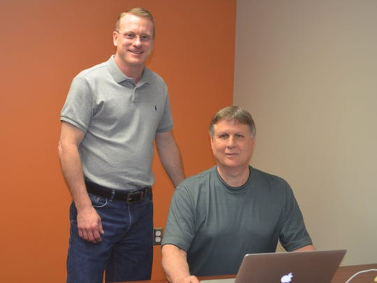Jody Chaffin, president of The App Pros, and David