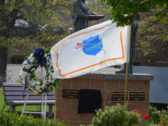 The Ingham County Law Enforcement Memorial