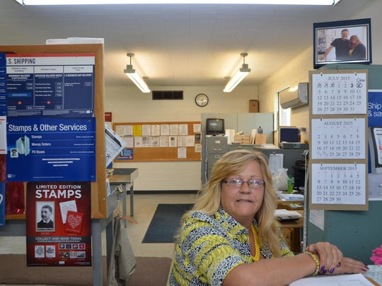 Burlington U.S. Post Office clerk Christine Williams said her chair jolted when the quake occurred.