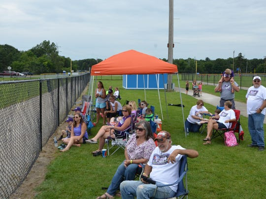 Fans drove over five hours from Ohio to cheer on the Southern Local All-Stars at Bailey Park.