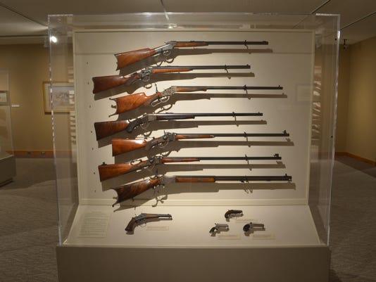 Browning-invented guns get new treatment at museum on aw gun, mm gun, gm gun, dd gun, tt gun, mr gun, sg gun, sk gun,