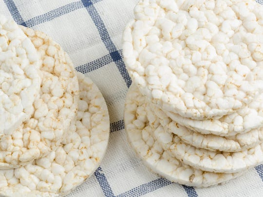 Air foods like puffed rice cakes aren't satisfying,