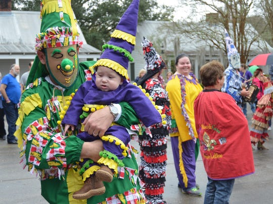 The traditional country Mardi Gras comes to the city when Vermilionville hosts its annual Courir de Mardi Gras Jan. 31.