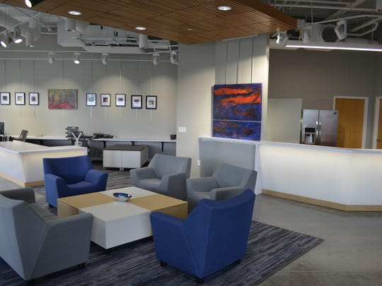 The West Des Moines Chamber of Commerce recently expanded to a new space in the West Glen Town Center. The chamber serves 600 members of the 3,000 businesses in West Des Moines.