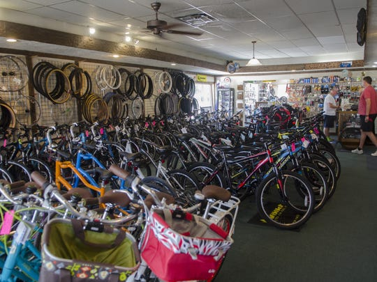 Alpine Cycles is a bicycle and skateboard shop at 726 Huron Ave., Port Huron.