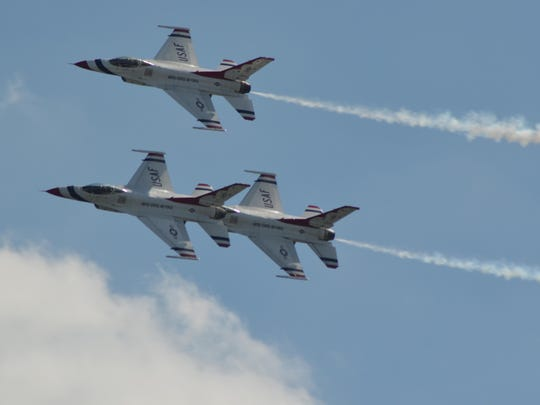 The USAF Thunderbirds were the main event at the 2016