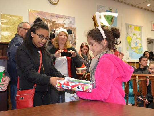 Gianna Jennett, 8, of Williamstown won the ages 7-9 category in the Buena Vista Township holiday coloring contest.