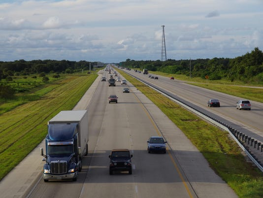 Highway I-95, Florida