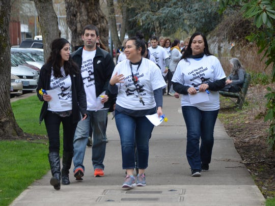 Just Walk Salem Keizer has organized a walk to celebrate National Walking Day on April 4 at Riverfront Park.