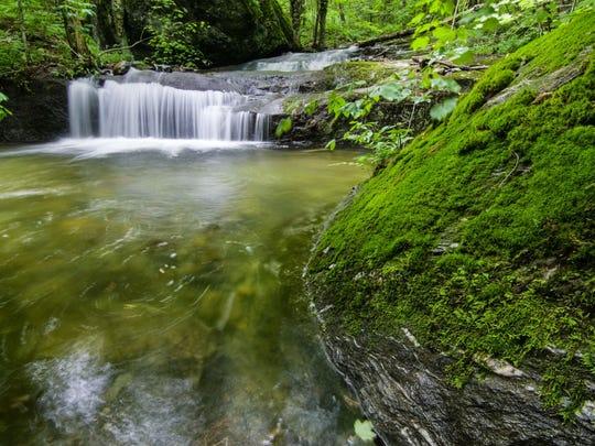 Waterfall in Bolton