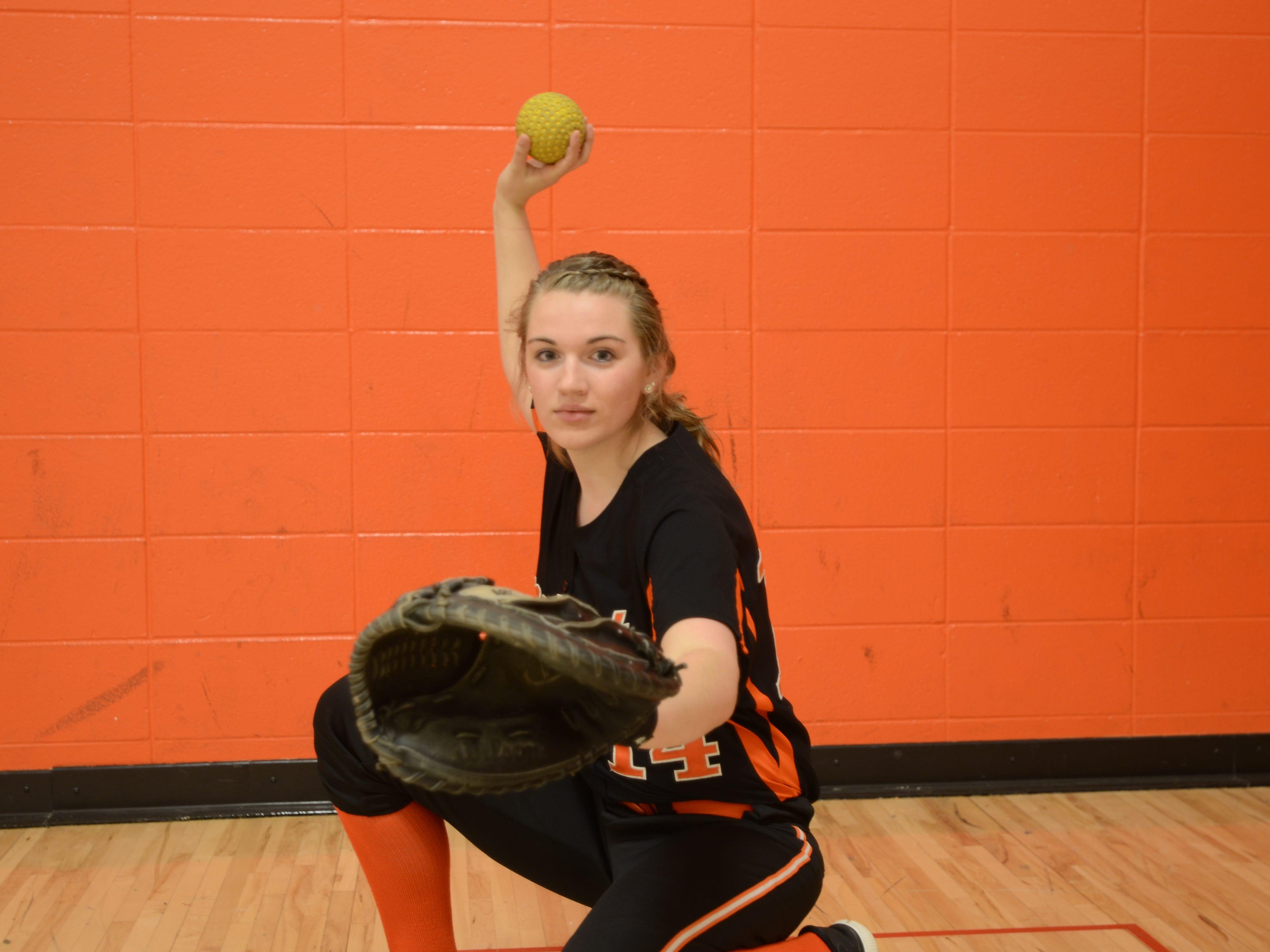 Mishicot catcher Amber Pantzlaff is this week's HTR Media Senior Spotlight.