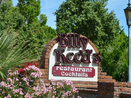 This Desert Sun file photo shows Billy Reed's restaurant in Palm Springs. Its co-owner, Robbie Lemley, died Friday, Nov. 15, 2019 at the age of 86.