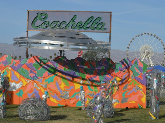 """Coachella Bound"" by Raices Culture at the Coachella Music and Arts Festival in Indio on Friday, April 10, 2015."