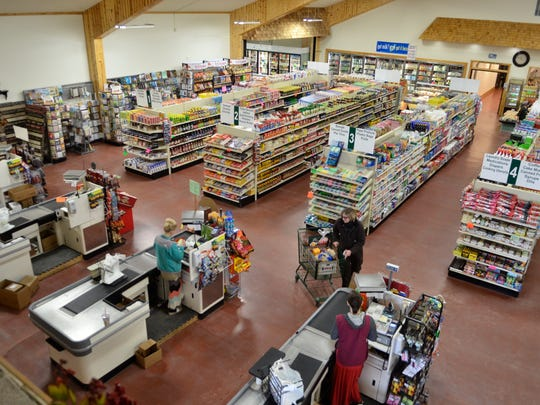 Country View Bulk Foods features many bulk spices, baking goods and candy.