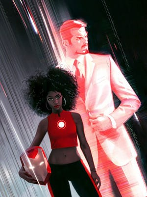 """Invincible Ironman,"" written by Brian Michael Bendis, features Riri ""Ironheart"" Williams, a teenager from Chicago, taking the mantle."