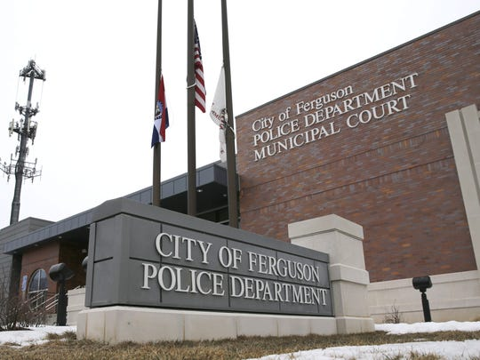 The Ferguson, Mo., Police Department is seen in March