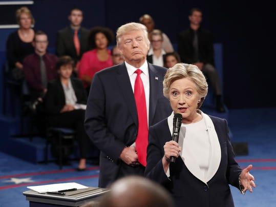 Hillary Clinton,Donald Trump