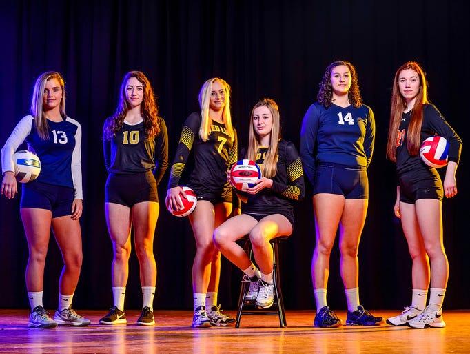 GameTimePA's first team all-star girls' volleyball