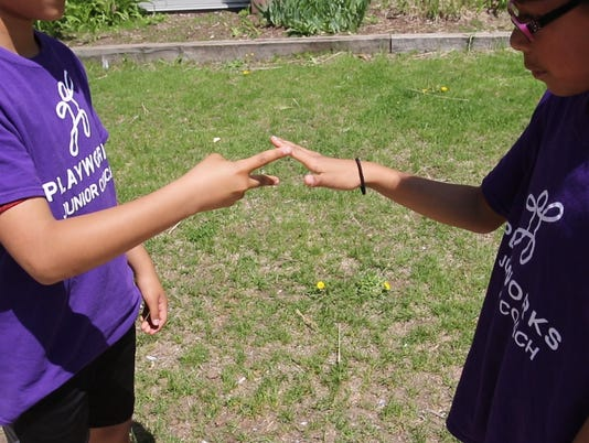 Playworks resolves conflicts in play, at school