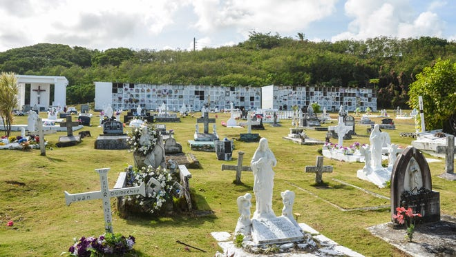 The Holy Cross Cemetery, also known as the Togcha Cemetery.