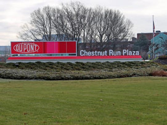 DuPont's Chestnut Run headquarters is shown.