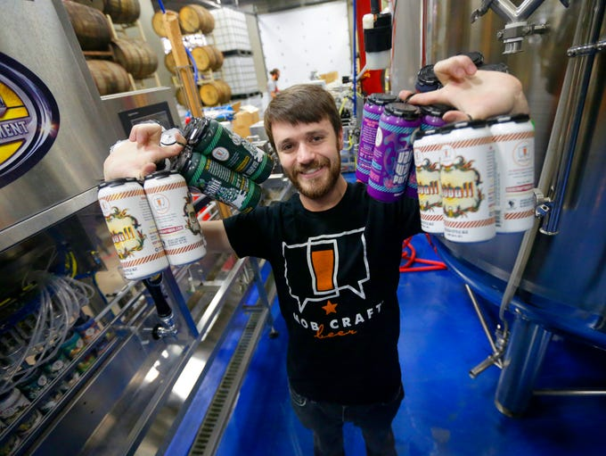 Henry Schwartz, founder and CEO of MobCraft brewery,