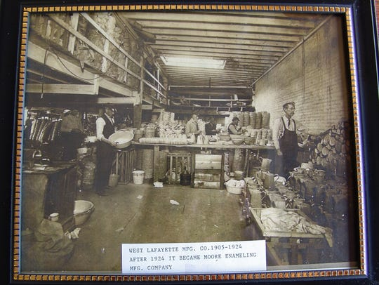 The West Lafayette Manufacturing Co. is captured in
