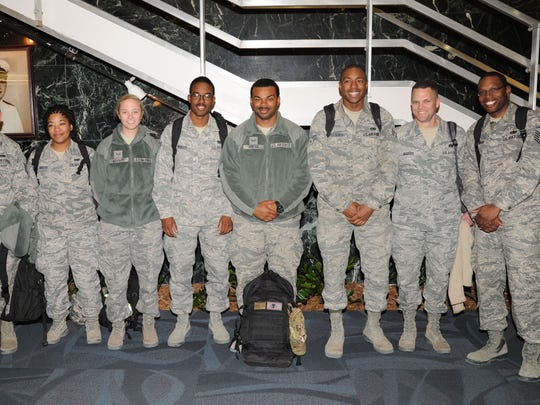 Airmen from the 908th Airlift Wing return home to Montgomery.